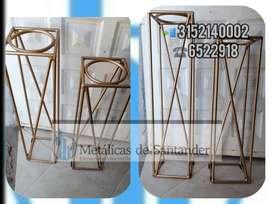 Base para materas en hierro