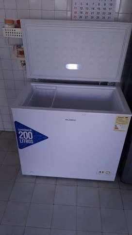 Congelador horizontal 200Lt