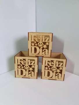 Cajas mdf de diferentes tamaños personalizadas