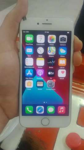 IPHONE 7 Grey, 32Gb para datos Movistar Tuenti y wifi con cargador original