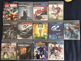 Juegos PLAY 3 NUEVOS