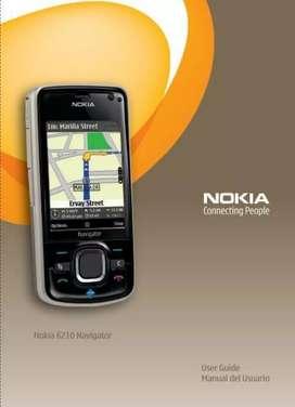 DE MI COLECCION NOKIA NAVIGATOR 6210 GPS SLIDER CON AUDIFONO ORIGINAL