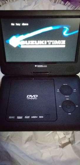Vendo dvd portatil nuevo