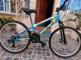 Bicicleta Montañera Gti aro 26