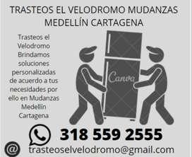 mudanzas medellin  cartagena