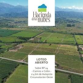 : : VENTA : : Hacienda de las Nubes - Loteo abierto