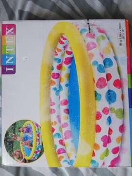 Piscina multicolor 3 aros
