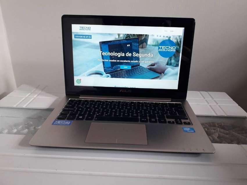 Portátil Asus 11,6p Táctil Dual Core Ram 4GB HDD 500GB