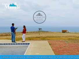 ¡UNICO!  Frente Al Mar Con Acceso Directo Al Mar, Crédito Directo - Manabi | SD2