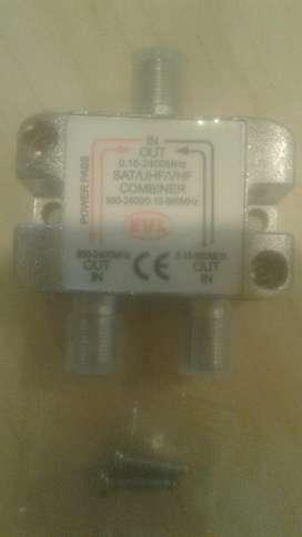 Displexor Automático 1 Entrada 2 Salidas