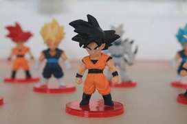 Mini figuras coleccionables de dragon ball