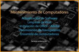 Soporte Técnico de computadores y más