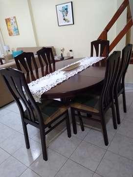 Venta de comedor de 6 sillas