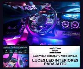 Luces Led interiores para auto - Govee