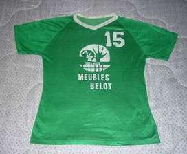 RARA Y ANTIGUA CAMISETA DE COLECCION VOLEY CLUB AVB SOIGNIES DE BELGICA 1990 VOLEIBOL