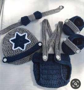 Trajes tejidos para bebe