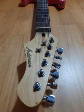 Guitarra eléctrica, anderson