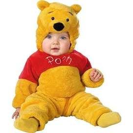 Disfraz Bebé Winnie The Pooh Disney 3 A 5 Años Original