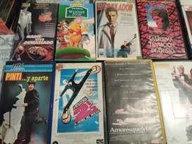 Vendo coleccion y lote de VHS ORIGINALES $ 250 CADA UNO