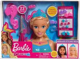 Barbie Sirena Peinados