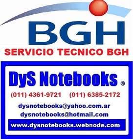 BGH SERVICIO TECNICO NOTEBOOK NETBOOK LAPTOP