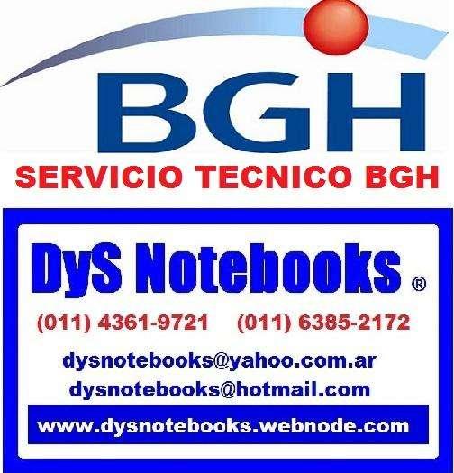 BGH SERVICIO TECNICO NOTEBOOK NETBOOK LAPTOP 0