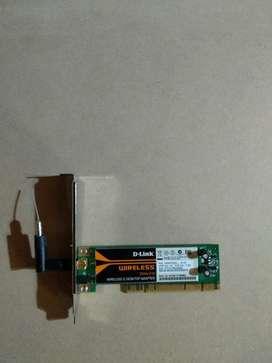 Placa D-link Wireless para Pc