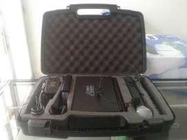 Microfono De Mano Inalambrico Uhf + Diadema Inalambrica