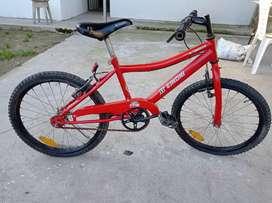 Bicicleta Rodado 20 Roja Mountain Bike Freestyle Zinoni OFERTA ENVIO GRATIS