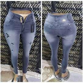 Jeans Plus Size Dama