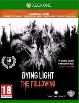Dying Light The Following Xbox One, Físico