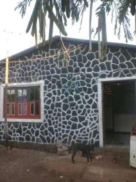 Casa con patio