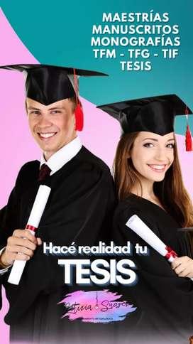 Profesor Te ayuda en tu TESIS MONOGRAFIA SEMINARIO FINAL TIF MAESTRIA SALVA TU GRADUACION