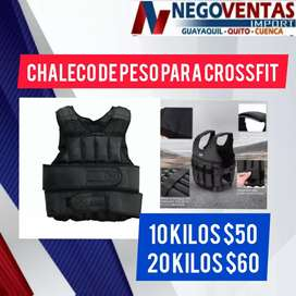 GRAN OFERTA DEL DÍA CHALECO DE 10KG FITNEES