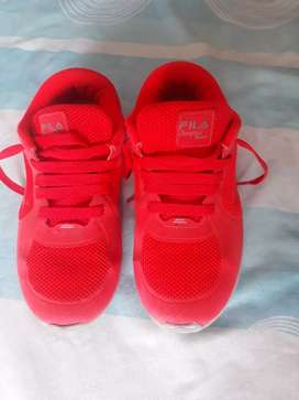 Zapatillas  de nena fila