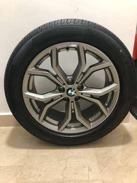 4 Rines BMW Nuevos con Llantas RunFlat 19 Pulgadas Modelo: Y694 BMW X3 G01