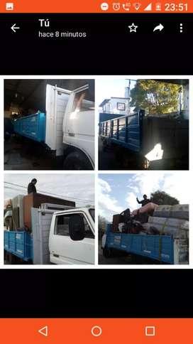 Camión para fletes mudanzas, repartos las 24 hs