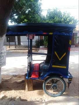 Carruaje para Moto/bici taxi