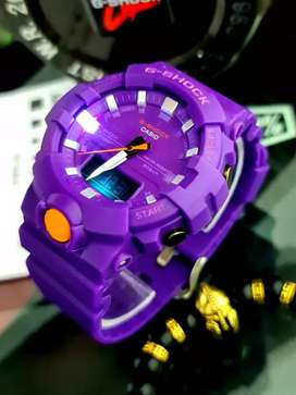 Reloj digital Casio diseño original NUEVO unisex caja de 4 cm color púrpura entrega incluida Bogotá