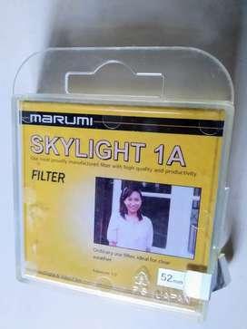 Filtro 52 mm Marumi Skylight 1A Protector UV