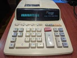 Calculadora impresora SHARP EL-1197P