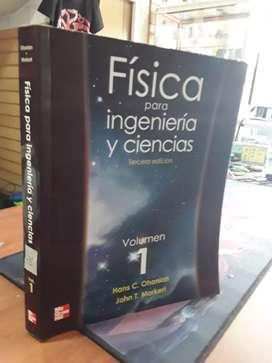 Física para ingeniería Y ciencias volumen 1 ohanian editorial mcgraw-hill tercera edición