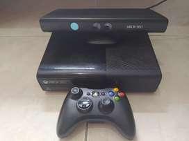 XBOX 360 100% original con Kinect y 2 controles 500 gb usado en excelente estado