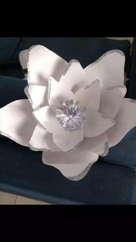 Flores de papel para eventos