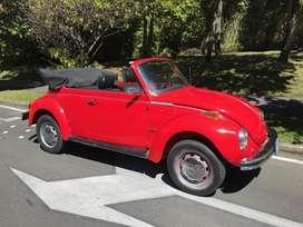 Volkswagen Escarabajo Super Beetle 1977 Original Convertible