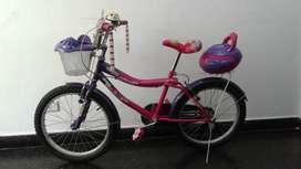 Bicicleta de paseo usada.