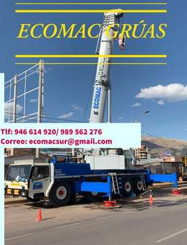 GRUAS TELESCOPICAS CUSCO