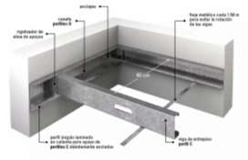 Construcción de Entrepisos sistema Steel Frame