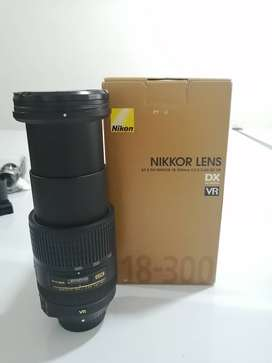 Lente Nikon 18 300