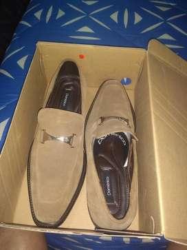 Zapatos Domenico Nuevos Talla 42 Gamuza